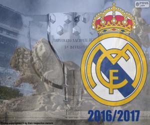 Puzle Real Madrid, mistr 2016-2017