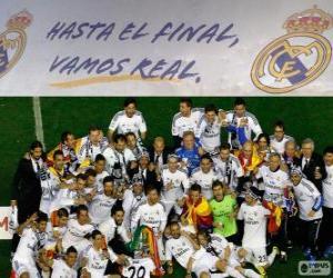 Puzle Real Madrid mistrem Copa del Rey 2013-2014