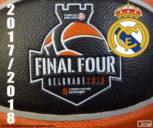 Puzle Real Madrid, vítěz Euroligy 2018