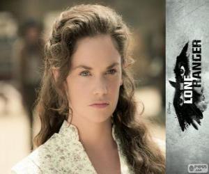 Puzle Rebecca Reid (Ruth Wilson) ve filmu Osamelý jezdec