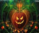 Typické Halloween dýně
