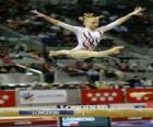 Moderní gymnastika - Cvičení na kladině