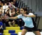 Badminton hráč