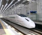 Vlak s high-tratě v Japonsku provozovaných (Šinkanzen)