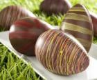 Čokoládová velikonoční vejce