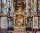 Oltář kostela