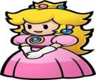 Krásná princezna s ní koruna