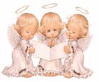 Tři andělé, zpěv