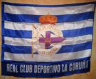 Deportivo de La Coruña vlajka