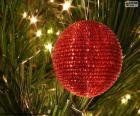 Lesklé vánoční koule