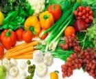 Různá zelenina