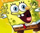 SpongeBob je mořská houba s velkýma očima