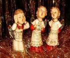 Andělé zpívat koledy