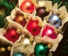 Vánoční koule box