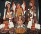 Keramické postavy Peru