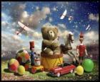 Medvídek sedí na buben, plesy a jiné drahé vánoční dárky
