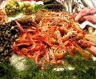 Seafood pestrá