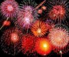 Ohňostroj na oslavu Silvestra