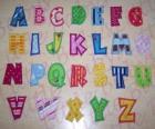 Velká písmena, abeceda