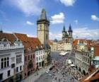Historické centrum Prahy, Česká republika.