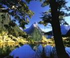 Te Wahipounamu - jihozápadní Nový Zéland.