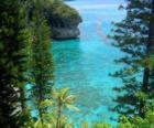 Útesy a ekosystémy, francouzské souostroví Nová Kaledonie, který se nachází v Tichém oceánu.