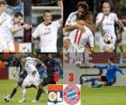 Olympique Lyonnais 0 - FC Bayerrn Munchen 3