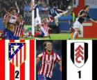 Evropa finále Ligy 2009-10 Atletico Madrid 2 - Fulham FC 1