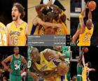 NBA finále 2009-10, hra 7, Boston Celtics 79 - Los Angeles Lakers 83