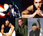 Eminem (EMINƎM) je rapper