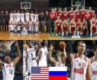 Spojené státy - Rusko, čtvrtfinále, 2010 FIBA světa Turecko