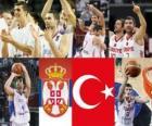 Srbsko - Turecko, semi-finále, 2010 FIBA světa Turecko