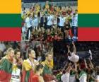 Litva, 3. místo v roce 2010 FIBA World, Turecko