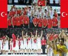 Turecko, 2. místo v roce 2010 FIBA World, Turecko