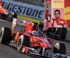 Fernando Alonso - Ferrari - Suzuka 2010 (3. místo)