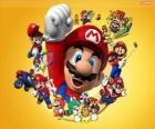 Mario slavný instalatér ve světě Nintendo. Mario Bros