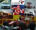 Fernando Alonso oslavuje vítězství v korejském Grand Prix (2010)