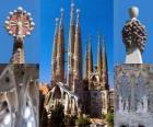 chrám smíření zasvěcený Svaté rodině - Sagrada Família - Barcelona, Španělsko.