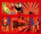 Lucerna Festival je konec čínské oslav nového roku. Krásné papírové lucerny