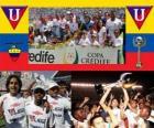 Liga Deportiva Universitaria de Quito vítěz 2010 (Ekvádor)