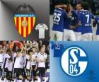 Liga mistrů UEFA osmé finále 2010-11, Valencia CF - FC Schalke 04