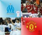Liga mistrů UEFA osmé finále 2010-11, Olympique de Marseille - Manchester United