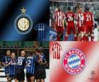 Liga mistrů UEFA osmé finále 2010-11, FC Bayern München FC Internazionale Milano