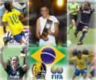 FIFA ženského světa hráč roku 2010 vítěz Marta Vieira da Silva