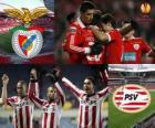 UEFA Europa League 2010-11 čtvrt-finále, Benfica - PSV