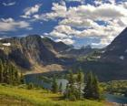 Krásné horské scenérie