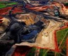 Uhelný důl v Jižní Africe