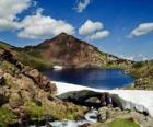 Carlit je nejvyšším vrcholem francouzského departementu Pyreneje Orientales