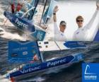 Virbac-Paprec 3 vítěze z Barcelony World Race 2010-11