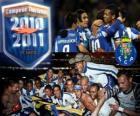 FC Porto portugalské ligy mistr 2010-11